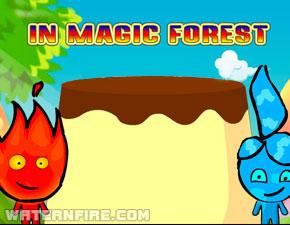 огонь и вода ловля фруктов